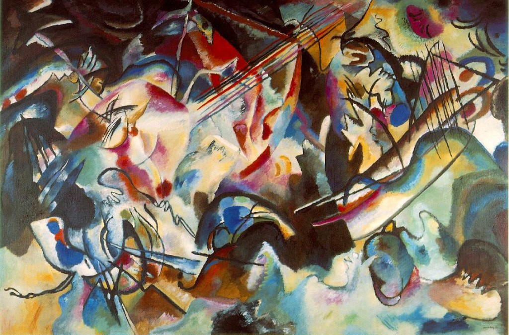 """Vasilij Kandinskij, """"Composizione VI"""" (1913)"""