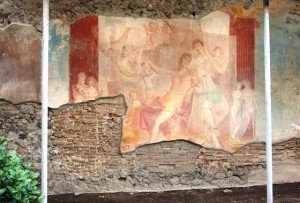 Pompei, Adone ferito