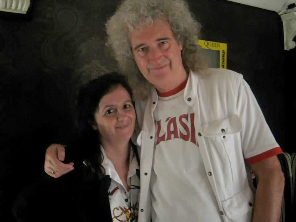 Raffaella e Brian May