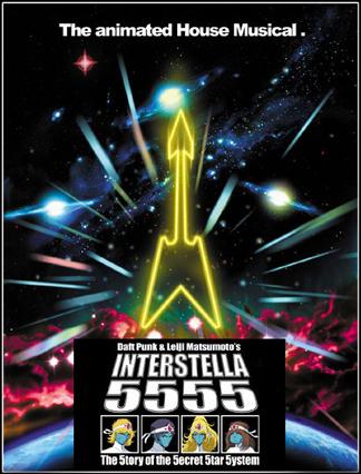 Interstella 5555 locandina