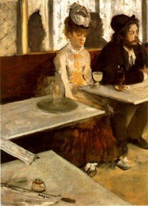 Edgar Degas, L'absinthe o Dans un café (1875-1876)