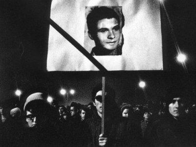 25 gennaio 1968, funerali Palach