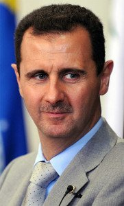 Bashar Al Assad. Fotografo:Fabio Rodrigues Pozzebom