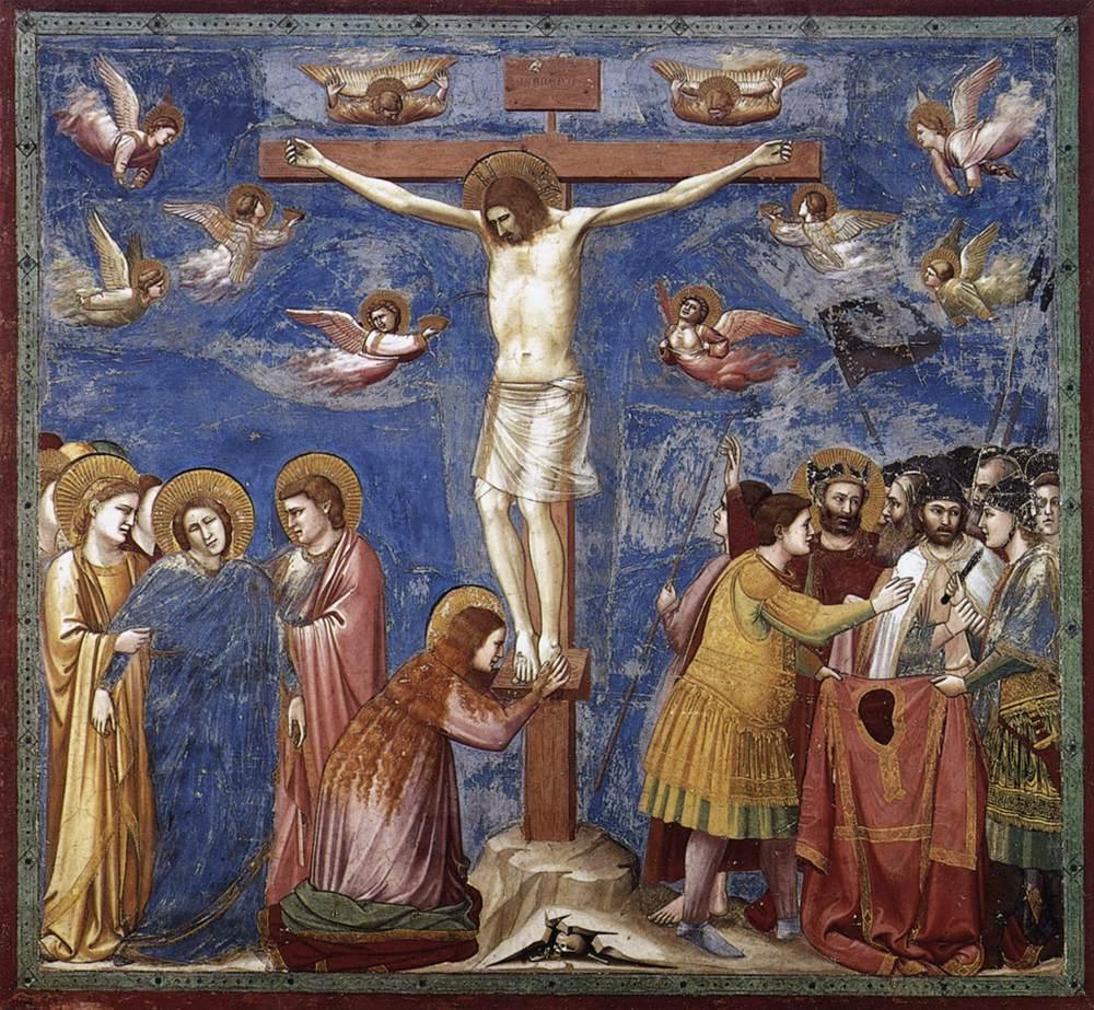 """""""Salita al Calvario"""", 200 x 185 cm, affresco della Cappella degli Scrovegni, Padova"""