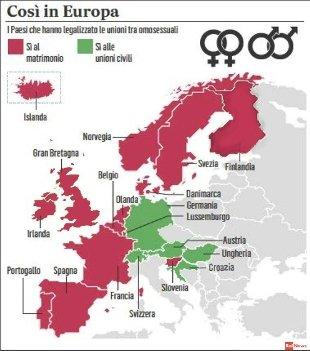matrimoni unioni mappa