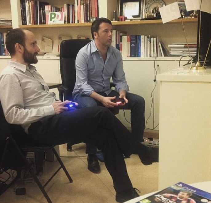 renzi play station