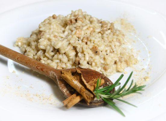 Risotto all'isolana, piatto tipico di Isola della Scala