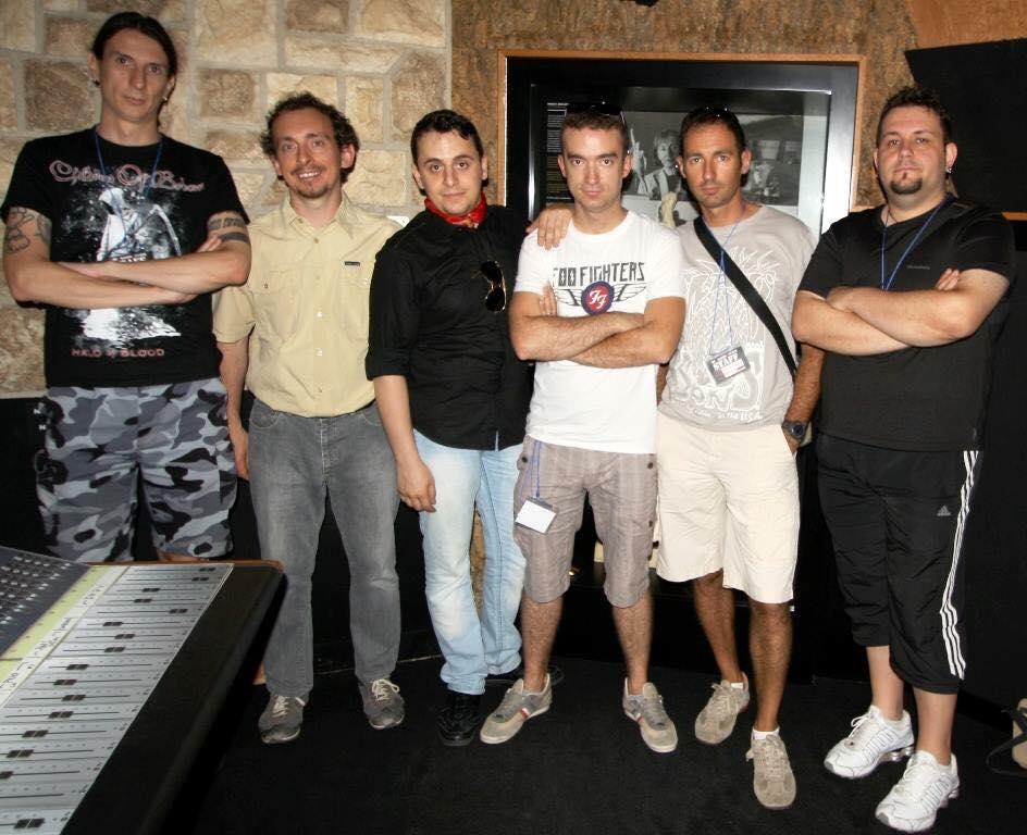 Da sinistra: Roberto Cattalano, Walter Benedetto, Patrick Galella, Fabio Giordano, Gabriele Naso, Danilo Cazzulo.