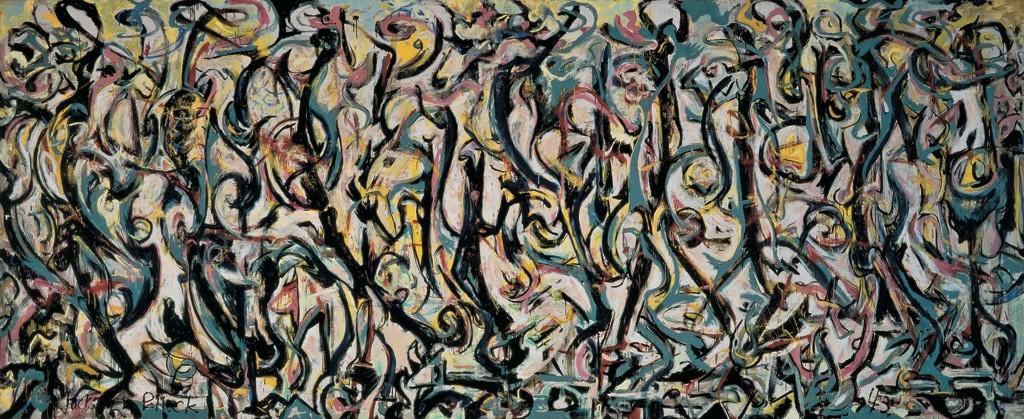 Il murale, Jackson Pollock, 1943, University of Iowa Museum of Art