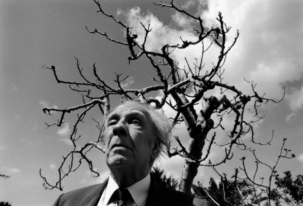 Selinunte. Argentinian writer Jorge Luis BORGES. © Ferdinando Scianna/Magnum Photos