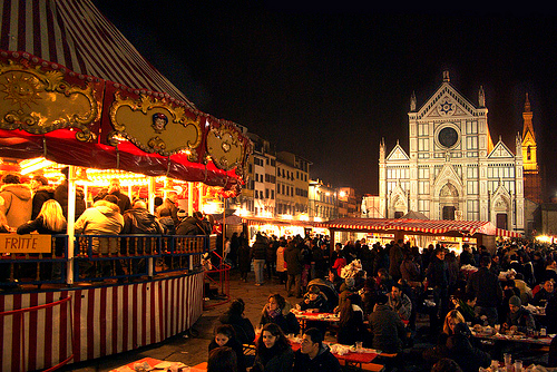 Mercatini di Natale Firenze Santa Croce Fonte: http://www.dreamingflorence.com
