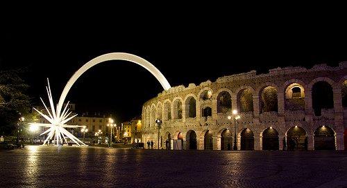 Stella Cometa all'Arena di Verona Fonte: http://www.forzearmate.org