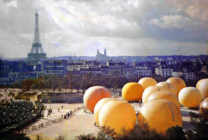 Parigi 1912 © Musée Albert-Kahn, Departement des Hauts-de-Seine