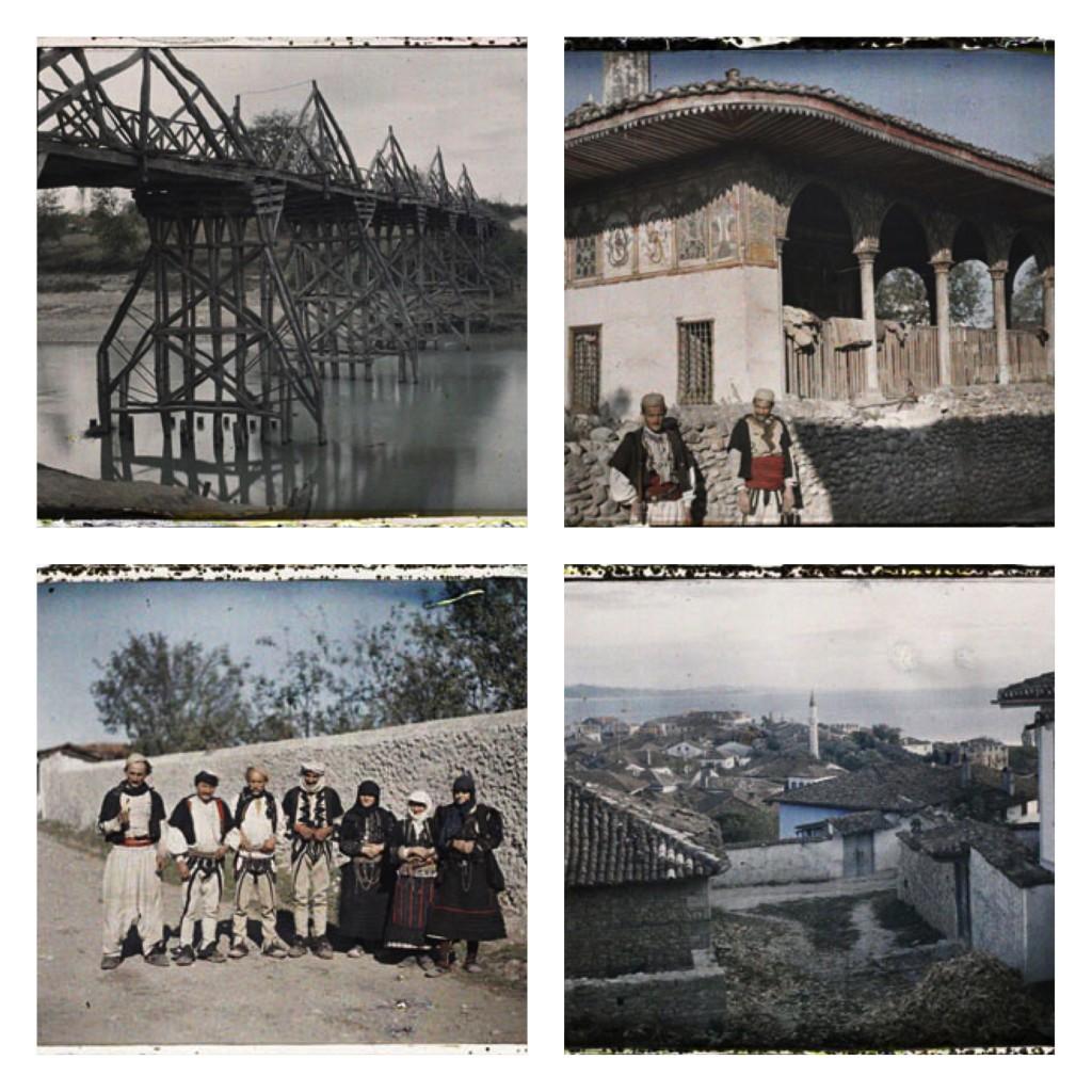 August Leon Kodjazi,Tirana,Durrës, Albanie, 17 octobre 1913 © Musée Albert-Kahn, Departement des Hauts-de-Seine