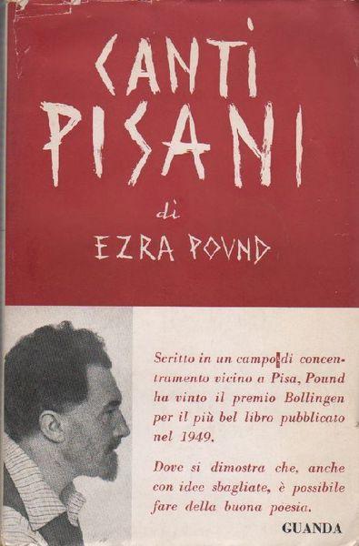 canti pisani, Ezra Pound
