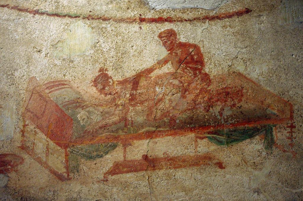 iscrizioni erotiche pompei catullo