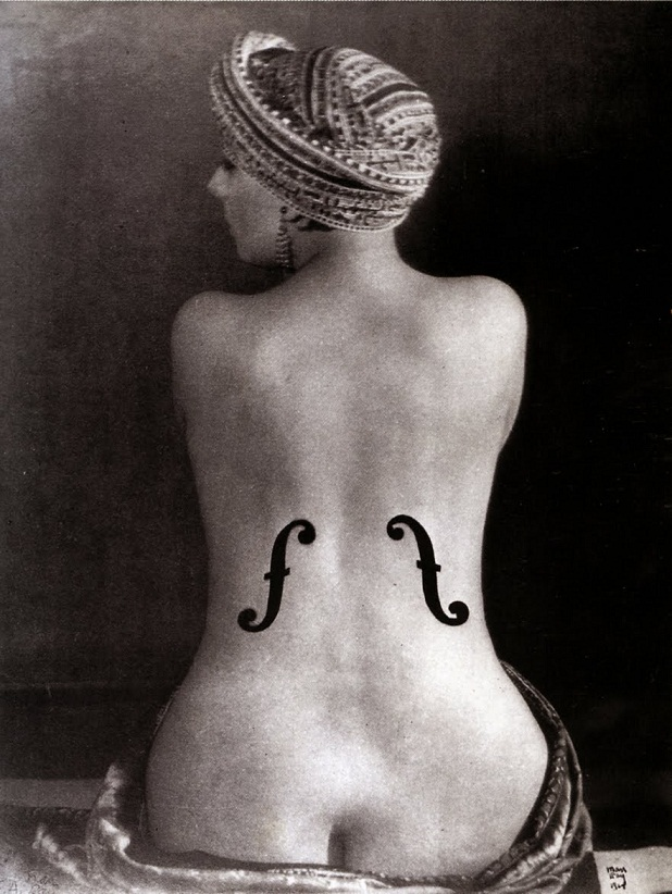 Le Violon d'Ingres, Man Ray.