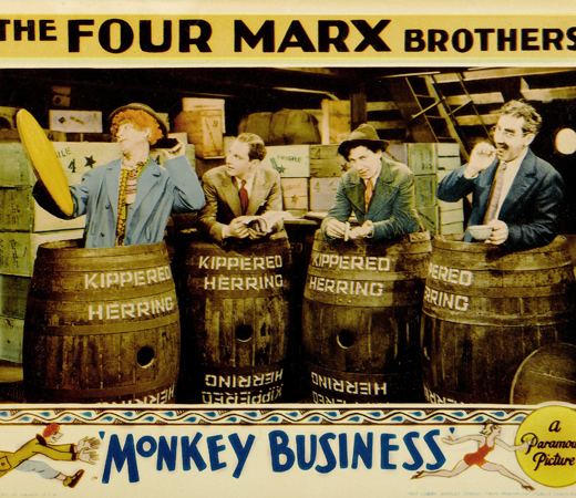 monkey business, fratelli marx