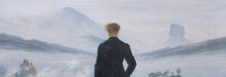 Viandante sul mare di nebbia: la solitudine, la natura e il sublime