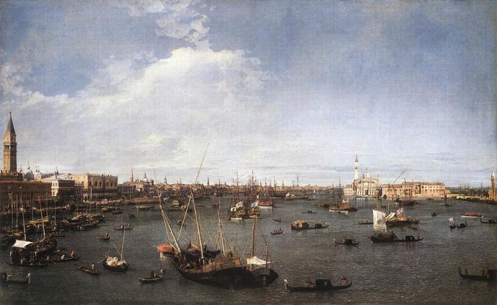Canaletto, Il bacino di San Marco