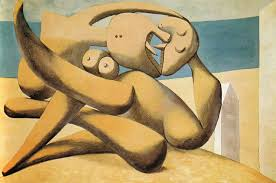 Pablo Picasso Figures By The Sea The Kiss 1931