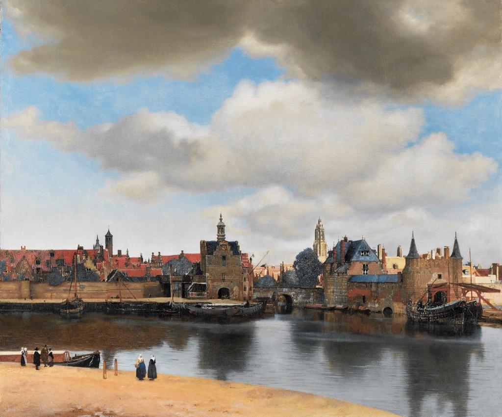 Jan Vermeer, Veduta di Delft