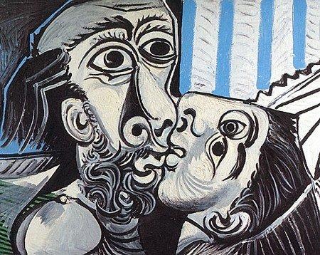 picasso bacio sensualità