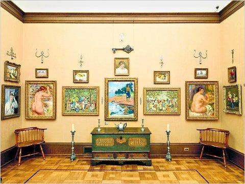 I quadri di Pierre-Auguste Renoir alla Barnes Foundation