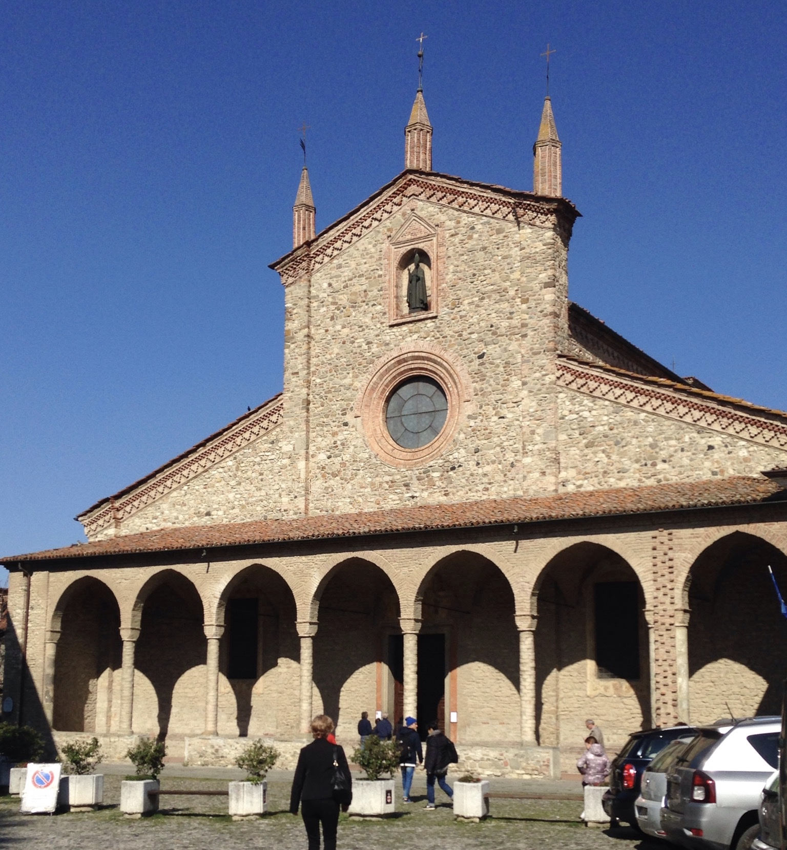 Abbazia di San Colombano, Bobbio Foto di Costanza Morra ©