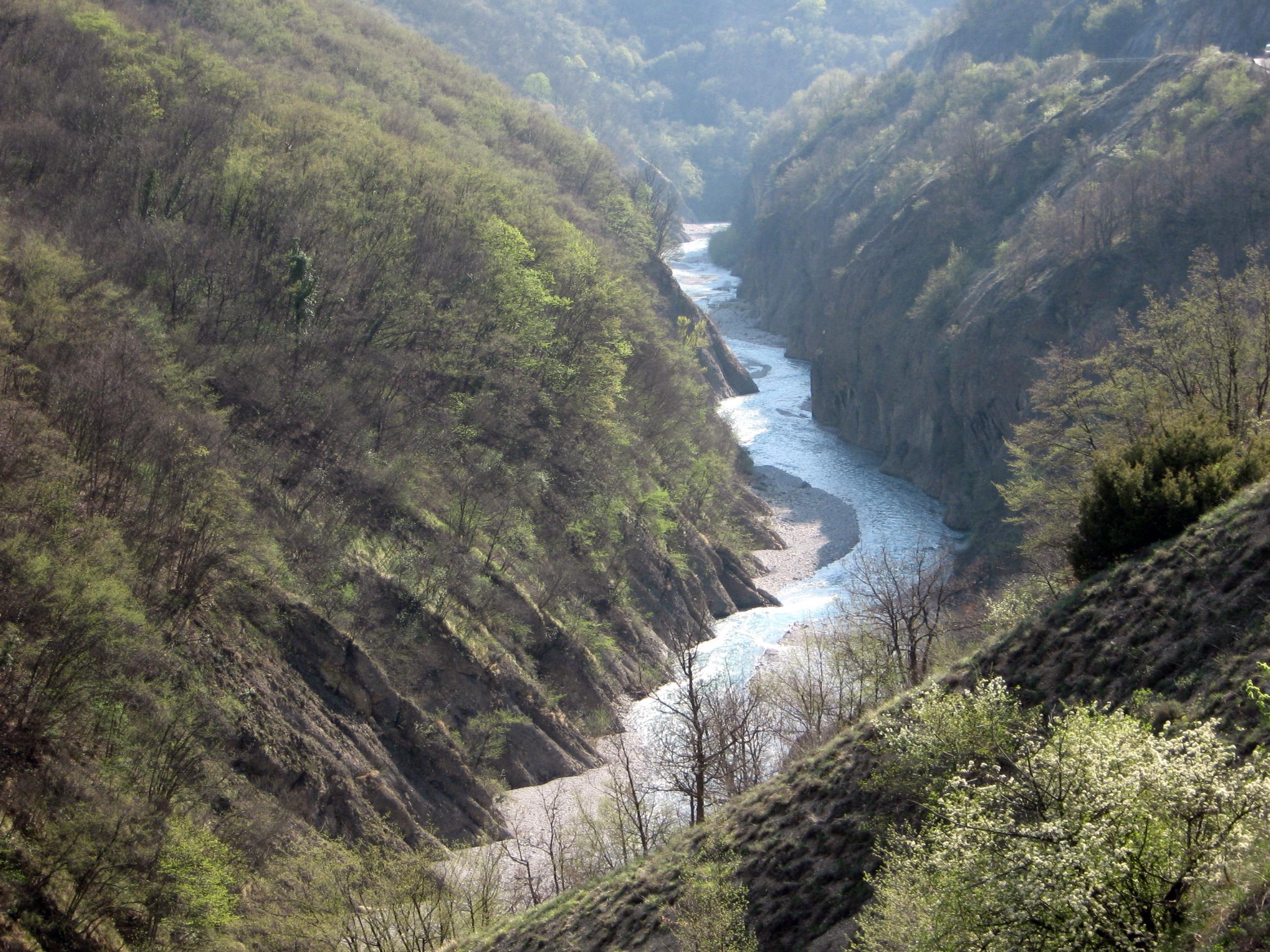 Panoramica della Val Barbera Fonte fotografia: Wikipedia