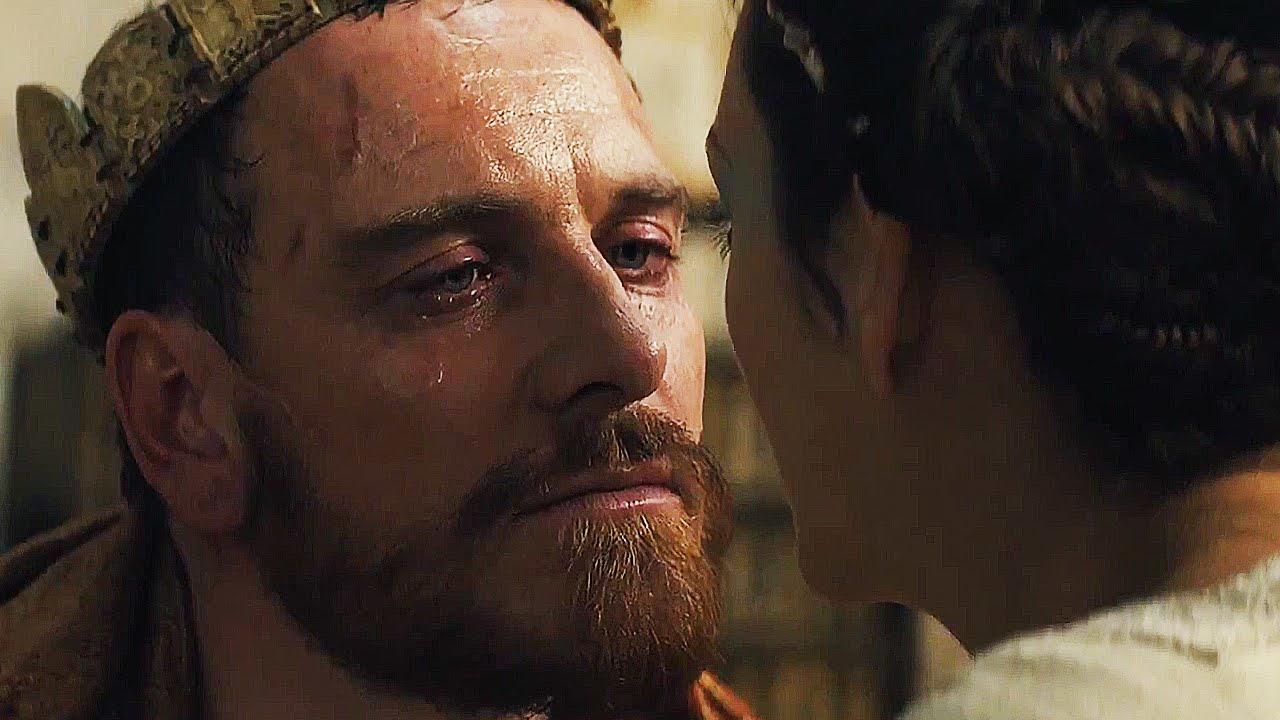 Michael Fassbender in un fotogramma di Macbeth (2015)