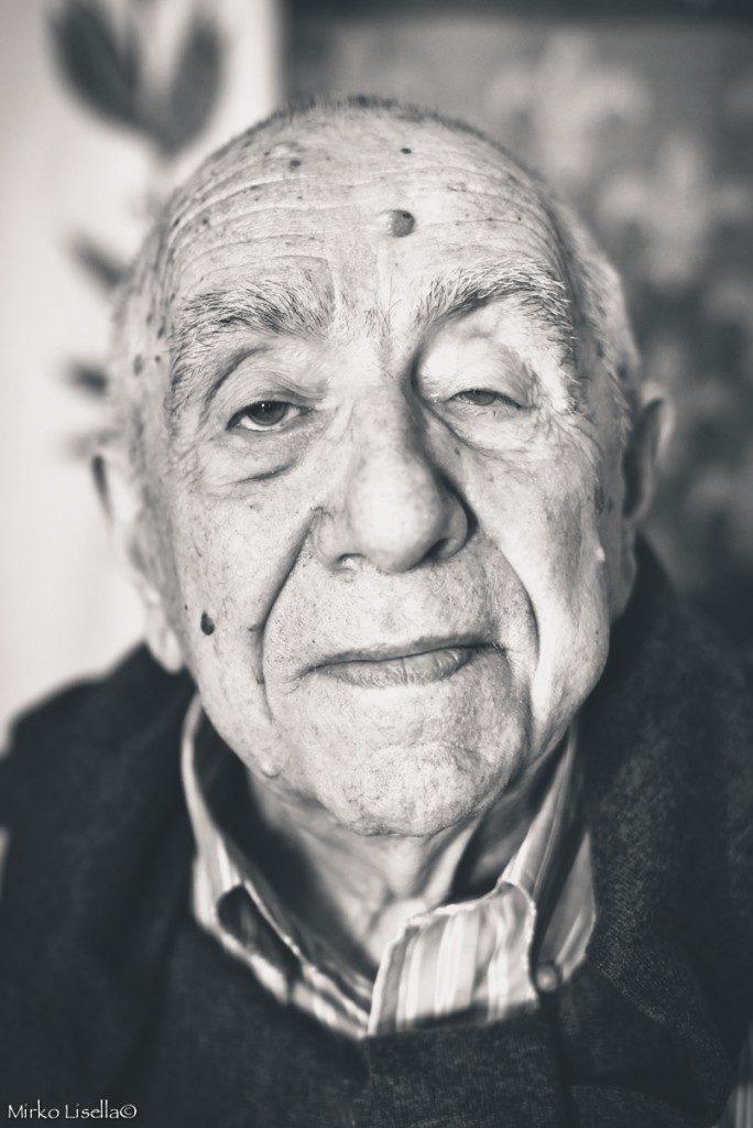 Danubio Aiazzi, 91 anni.