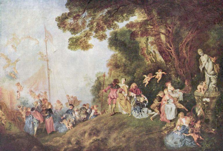 """""""Embarquement pour Cythère"""": <br>l'eterna festa galante di Watteau"""