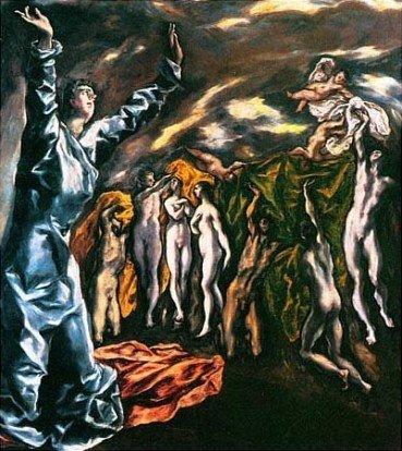 """""""La visione dell'Apocalisse"""" di El Greco"""
