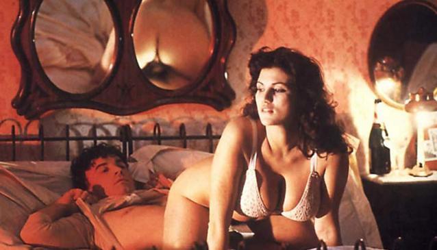 """Serena Grandi in """"Miranda"""" (1985) di Tinto Brass."""