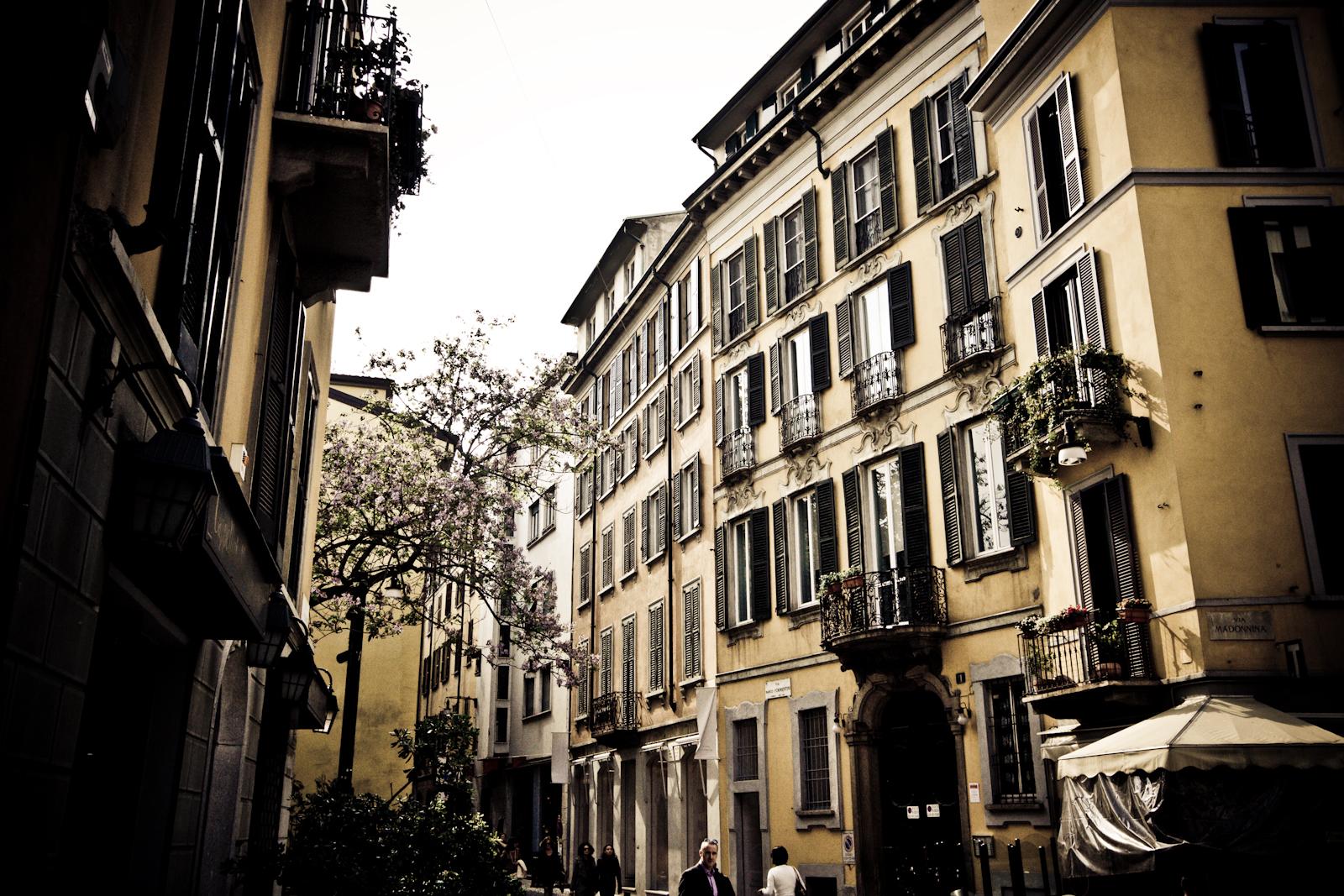 Milano, Brera. Foto da Flickr