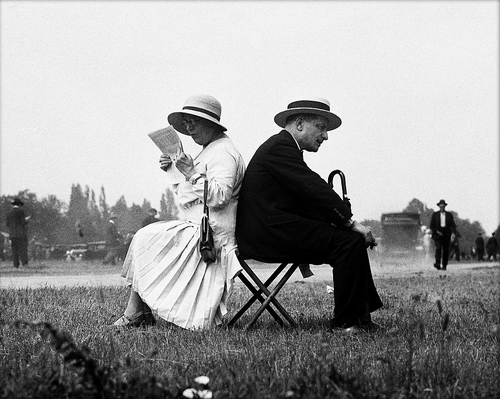 © Bill Brandt, SP19-Epsom Derby, 1935