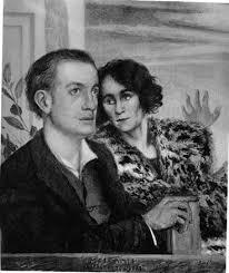 Ritratto di Gala e Paul Eluard ad opera di Giorgio de Chirico www.fondazionedechirico.org