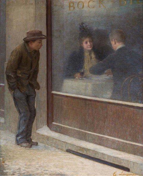 """""""Riflessioni di un affamato"""" <br>di Longoni e la vocazione<br> sociale del Divisionismo"""