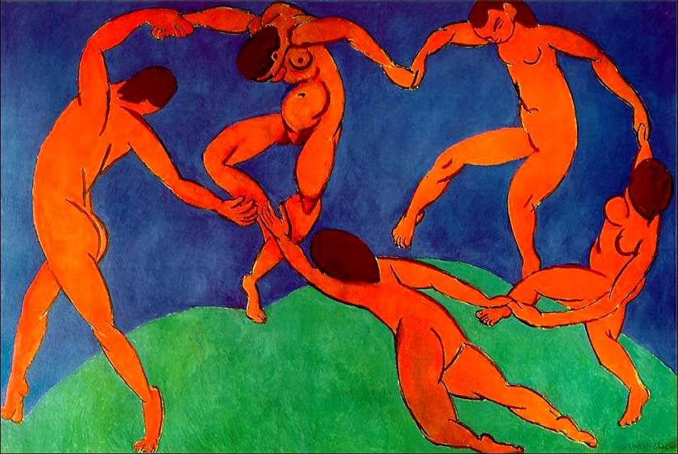 """La danza"""" di Matisse: un girotondo di armonia in capo al mondo"""