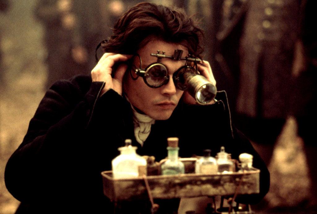 SLEEPY HOLLOW, Johnny Depp, 1999