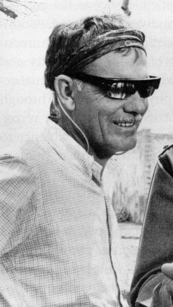 Il regista Sam Peckinpah