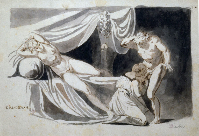 L'erotismo inquieto di Johann Heinrich Füssli