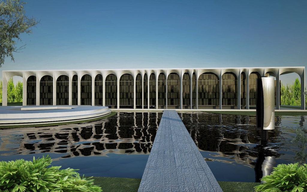 Oscar Niemeyer, Palazzo Mondadori. Fonte: www.rappresentazione.it