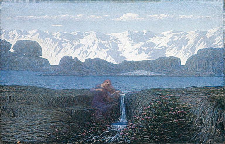 """""""Il suono del ruscello"""", <br>il naturalismo <br>dell'ultimo Longoni"""