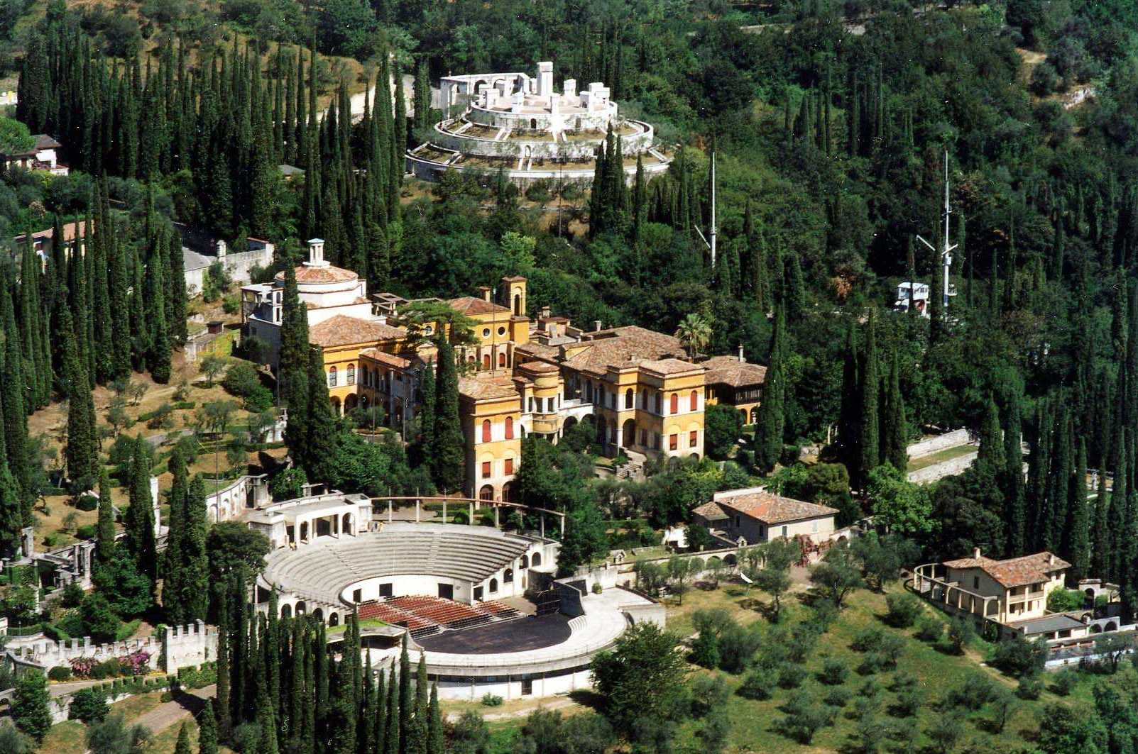 Il Vittoriale degli Italiani. Fonte: it.wikipedia.org