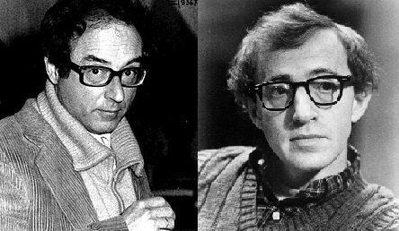 Oreste Lionello e Woody Allen