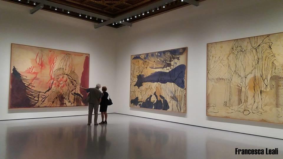 Sigmar Polke a Palazzo Grassi. Foto di Francesca Leali © il fascino degli intellettuali