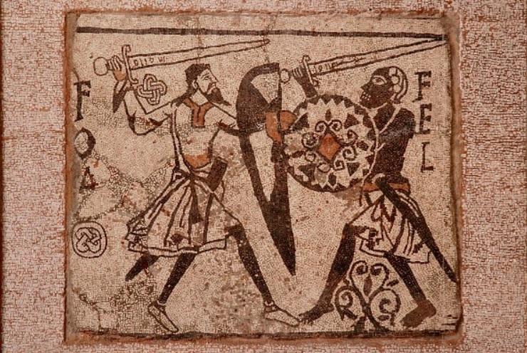 Il mosaico di Fol e Fel