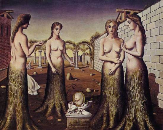 L'aurora, P. Delvaux (1937)